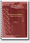 Borys Myronchuk. Sonata for Bayan - for Accordion (Bayan)